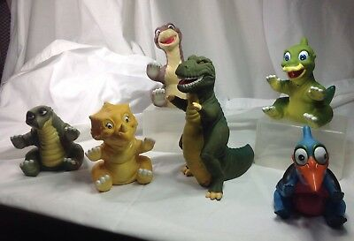 Set Of Land Before Time Pizza Hut Hand Puppets Complete