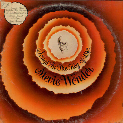 Stevie Wonder - Songs In The Key Of Life (Vinyl 2LP - 1976 - US - Original)