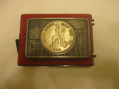 Boy Scouts of America National Jamboree Valley Forge 1950 Belt Buckle