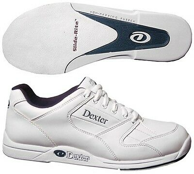 Boys Dexter Ricky II Bowling Shoes White Sizes 6