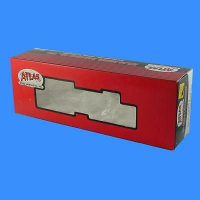 """S1 S2 S3 S4    """"empty Box""""     Early Red Box Atlas Ho Scale"""