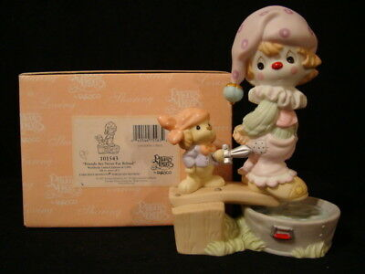 """Precious Moments-Clown Series-5,000 """"Pirate"""" Walking Plank **SIGNED BY GENE**"""