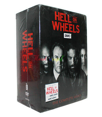 Hell on Wheels: The Complete Series Seasons 1-5 Box Set (New, DVD, 17-Disc)