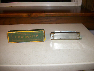 German Chromatic Harmonica Hugo Rauner
