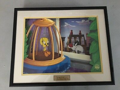 "Looney Tunes Warner Bros. TWEETY SYLVESTER Animated Animations ""Putty Tat"""
