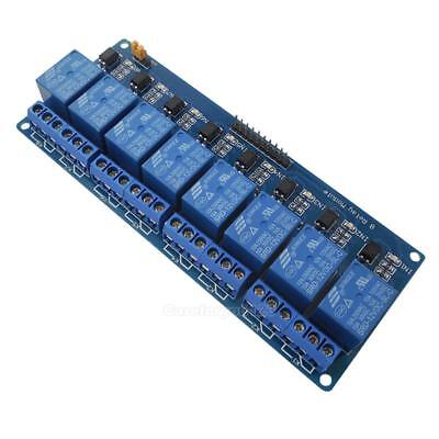 12V 8 Channel Relay Shield Module for Arduino UNO 2560 1280 ARM PIC AVR STM