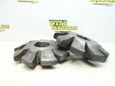 "Pair Of Hss Involute Milling Cutters No.6-2.513Pp. & No.4-2P. B&s 1-1/2"" Bores"