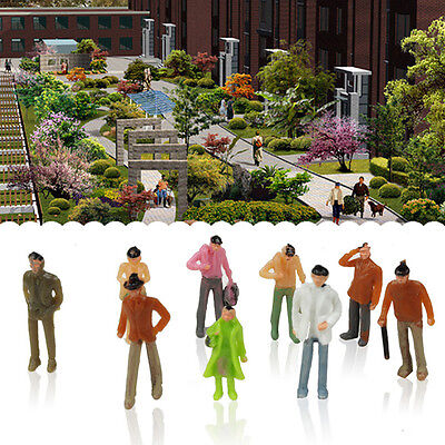 10Pc 1: 100 Scale Villain Model People Sitting Figures Passengers Baby Kids Toys