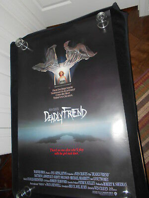 Deadly Friend Horror Original Rolled One Sheet Poster