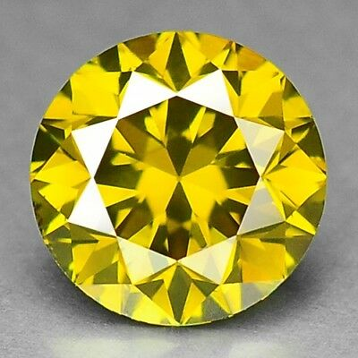 1.12 Cts FANCY SPARKLING QUALITY GOLDEN YELLOW COLOR NATURAL DIAMONDS- VS2
