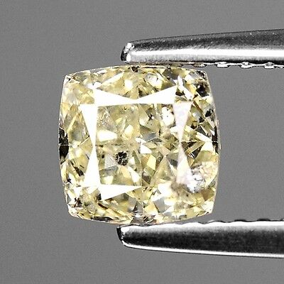 1.29 Cts UNTREATED INTENSE YELLOW COLOR NATURAL LOOSE DIAMONDS