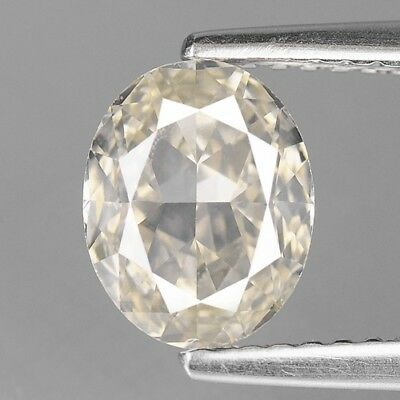 1.52 Cts CERTIFIED NATURAL GRAYISH YELLOW COLOR LOOSE DIAMONDS- SI1