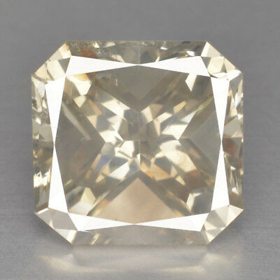 2.40 Cts UNTREATED GRAYISH YELLOW COLOR NATURAL LOOSE DIAMONDS-SI1