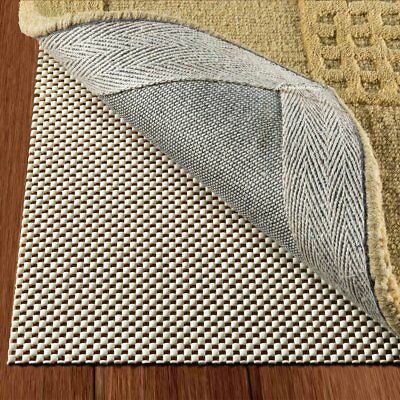 Non Slip Area Rug Pad Size 4' X 6' Extra Strong Grip Thick Padding And High