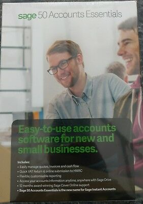 Brand New Sealed Sage 50 Accounts Essentials Accounting Software