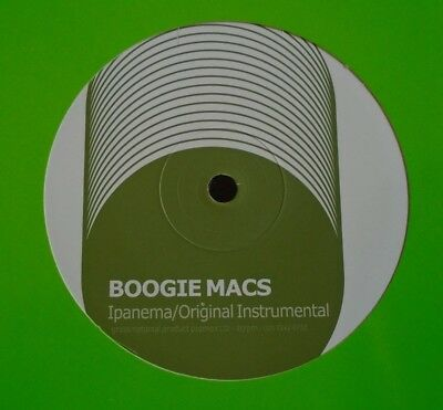"BOOGIE MACS ~ Ipanema ~ 12"" Single"