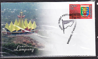 Indonesia 2009 Lampung Province  First Day Cover
