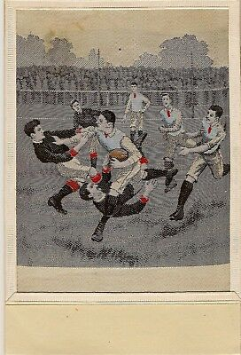 Scarce Woven Silk   Rugby   The Sport Not The Town !