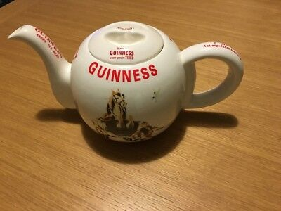 Guinness Farmer And Horse Teapot / Tea Pot