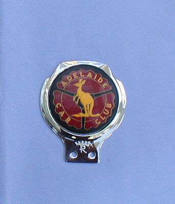 ADELAIDE CAR CLUB BADGE,REMAX,CLASSIC,MG,AUSTIN,FORD,HOLDEN,MORRIS,MINI,etc