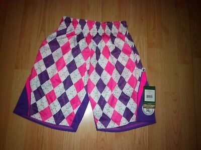 Flow Society Girls Athletic Print Shorts Size Youth Small 7-8 New