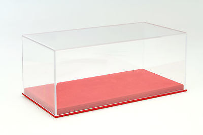 Quality Acrylic Display Cabinet with Alcantara Floor Plate for Model Cars in