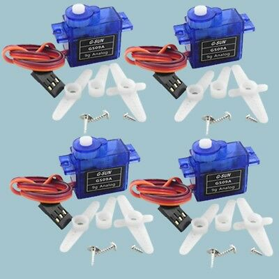 NEW 4pcs 9g Mini Micro RC Servo for Rc Helicopter Airplane Foamy Plane I