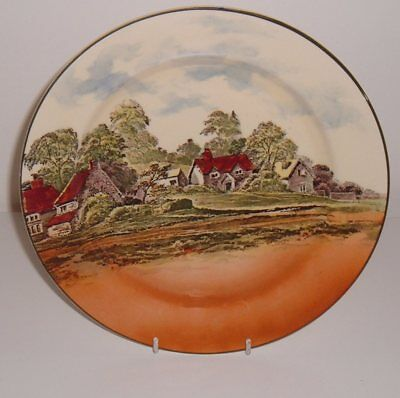 Royal Doulton Series Ware Large Plate D3647 Countryside 1934