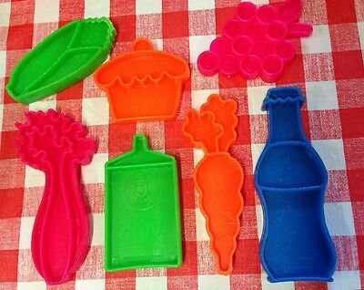 VTG MATTEL Pretend Play Food Kitchen Groceries Tuff Stuff 1972
