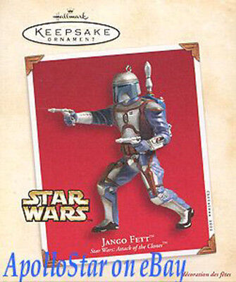 Star Wars 2002 JANGO FETT Ornament ~ Hallmark