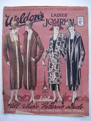 WELDON'S LADIES' JOURNAL No. 551, May 1925  - with patterns