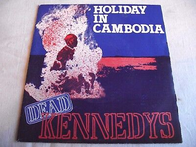 Dead Kennedys ~ Holiday In Cambodia ** 1980 Cherry Red 45
