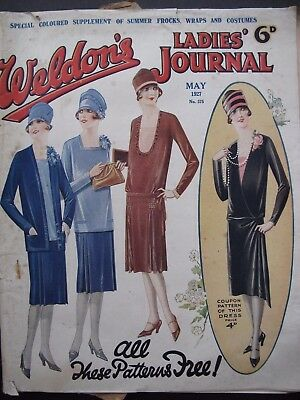 WELDON'S LADIES' JOURNAL No. 575, May 1927  - with patterns