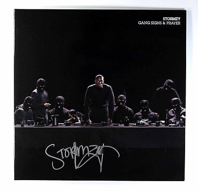 Stormzy - Gang Signs & Prayer (Limited 2 x Vinyl LP Signed by Stormzy) New