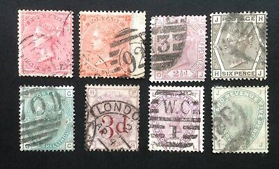 GB Queen Victoria Surface Printed. General Used Selection. (cat £1100)