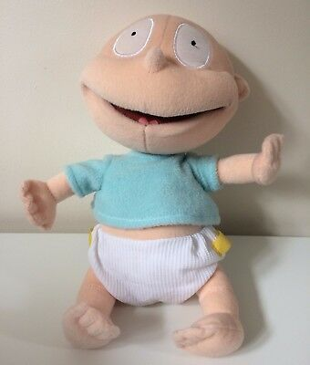 Rugrats Nickelodeon Tommy Pickles Gosh Plush Soft Toy 12 inches 2001
