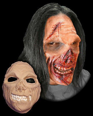 Hungry Zombie Foam Latex Mask Prosthetic Professional Quality STAGE FRIGHTS