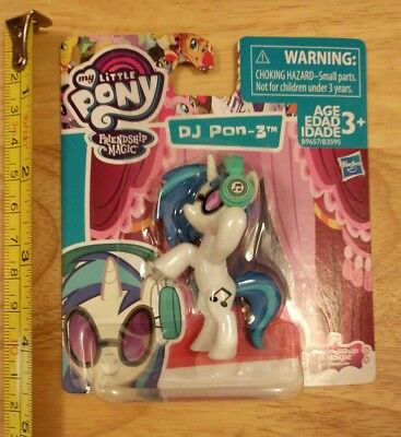My Little Pony Friendship Is Magic Collection DJ Pon-3 Story Pack Mini Fig 2.5""