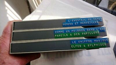 3  Films 8 Mm Bandes Magnetiques  Sonores  /  Documentaires/ Faunes Marines