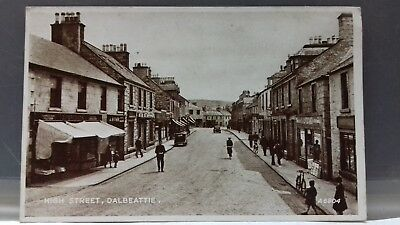 High Street - Dalbeattie - Dumfries & Galloway - Printed Unused