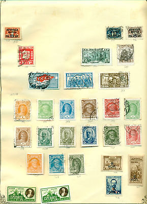 E226 Russia 1927/28 Mh/used. Sheet Old Collection. Cat. ++58 €.