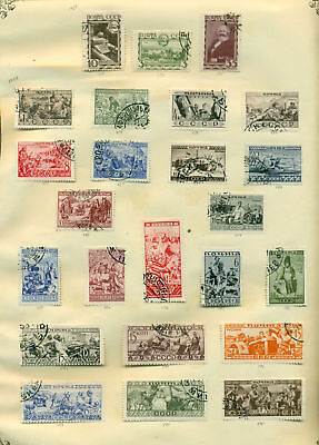 E229 Russia 1933 Used. Sheet Old Collection. Cat. ++47 €.