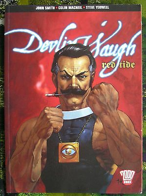 2000 Ad Devlin Waugh Red Tide Graphic Novel