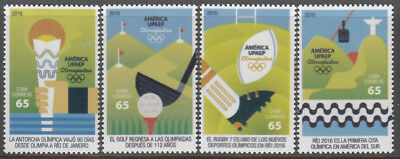 CU 2016-17 Rio Olympic Games Jeux olympiques Olympische Spiele UPAEP (MNH)
