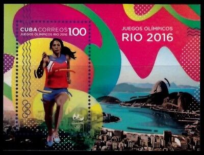 CU 2016-16 Rio Olympic Games Jeux olympiques Olympische Spiele (MNH)