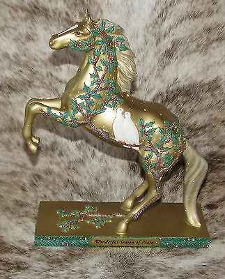 TRAIL OF PAINTED PONIES Wonderful Season of Peace~Low 1E/0282~Christmas 2017~