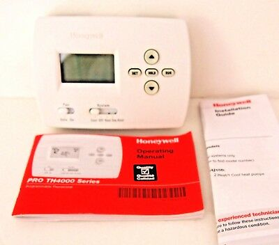 HONEYWELL TH4210D1005 Thermostat 5 2 Day Programmable honeywell r8182d wiring diagram honeywell v8043e wiring \u2022 wiring honeywell th4210d1005 wiring diagram at webbmarketing.co