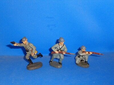Group of Elastolin French Toy Soldiers #4