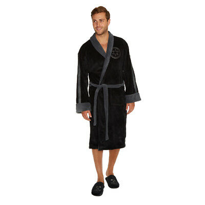 Star Wars Darth Vader Herren Luxus Bademantel Einheitsgröße Hoodless robe neu