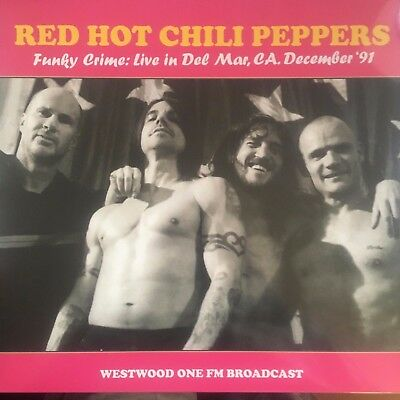 Red Hot Chili Peppers Funky Crime Live Del Mar Dec 1991 NEW Vinyl LP SEALED